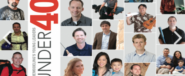 Revision, LLC named one of Professional Remodeling Magazine's 40 under 40!