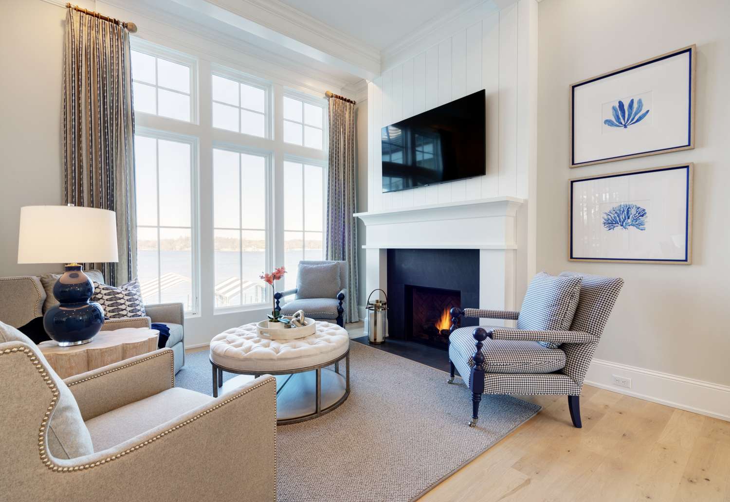 Fireplaces and Surrounds by Revision Renovations and Remodeling